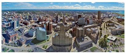 Pola Keruangan Wilayah Kota Berdasarkan Teori Poros dan Teori Pusat Kegiatan Banyak